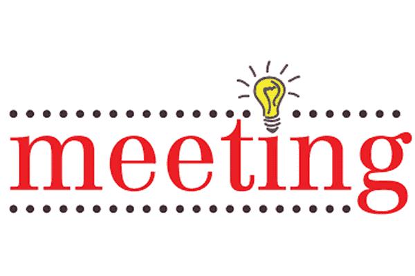 upcoming meetings!