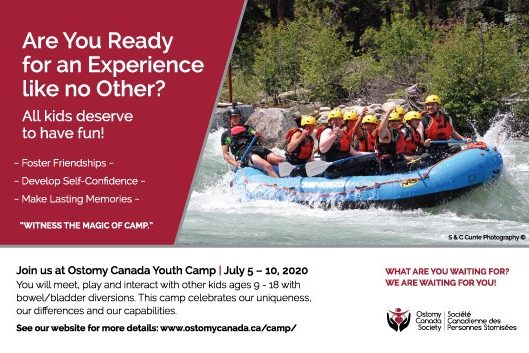 Ostomy Canada Youth Camp Poster